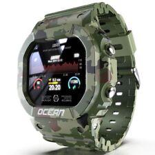 Smart Watch Fitness Tracker Heart Rate Monitor Waterproof Sport Men's Wristband