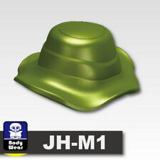 Tank Green Boonie Hat Cap for LEGO army military brick minifigures