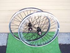 WHEELS PAIR BMX  24 X 1.75 SEALED FLIP-FLOP BLK DBLE  SUN  36 SS EYELETED