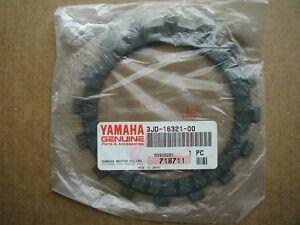 Yamaha NOS New Clutch Fiber Plate 3JD-16321-00 YZ125 1983 1984 1985 1989 1990