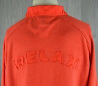 Vintage Tommy Bahama Relax Men's L Long Sleeve Big Relax Spell Out Back