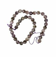 String of 40 Amethyst 10mm Beads for Jewellery Making (T8S)