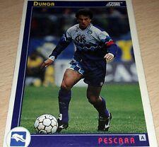 CARD SCORE 1993 PESCARA DUNGA CALCIO FOOTBALL SOCCER ALBUM