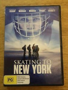 Skating To New York (DVD, 2013) Connor Jessup, Wesley Morgan. Region 4