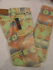 Polo Ralph Lauren Tompkins Skinny Printed Stretch Fabric Jeans size 27 $198