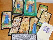 LOT cartes de jeu TAROT VISCONTI SFORZA fabbri 2002 cartomancie divinatoire CARD