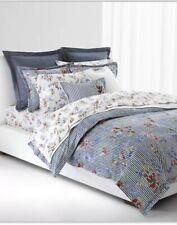 3pc Ralph Lauren Comforter &Shams Set Tropical Floral & Stripes King $335 Retail