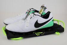 Nike Tiempo Legend VI SG-Pro AC Soccer Cleats Wht/blk/electro green Size 11.5