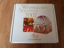 Weihnachts-Spieldose von Hutschenreuther 2002 mit Original-Karton Topp
