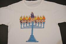 New listing Vintage 80s Trolls T-Shirt Hannukah Russ Trolls Graphic Tee Small Jewish