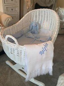 Stunning personalised portuguese shawl blanket gift namesake present