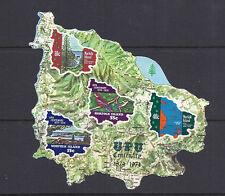 NORFOLK ISLANDS 1974 UPU souvenir sheet (Scott 184a) VF MNH