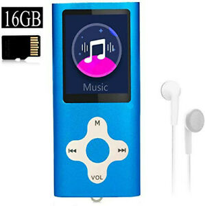 16GB Xidehuy MP3 Player with a 16GB Micro SD Card Included