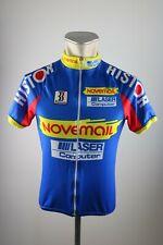 Novemail láser Biemme Team vintage radtrikot talla L camiseta bike Cycling Jersey h6