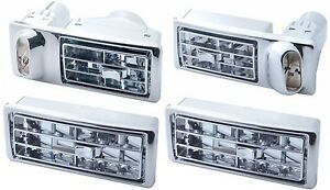 Kenworth W900 T600 T800 Chrome AC Dash Vent Complete Set Fits various models