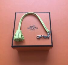 Bnib Hermes Charm Carmen Carmencita Yellow Lime PM Bookmark