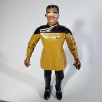 1993 Playmates Star Trek TNG LaForge In Dress Uniform Figure w/accessories