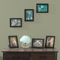 Picture Frame Set 5 x 7 In. Pack for Picture Gallery Wall with Stand Hanging