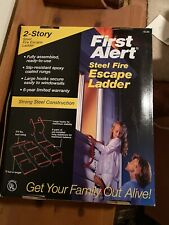 First Alert El-50 2nd Story 15' Escape Ladder Red Brand New In Box