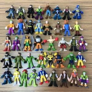 "Random 7X Imaginext DC Super Friend 2.5"" Action Figure Superhero Dolls XMAS Gift"
