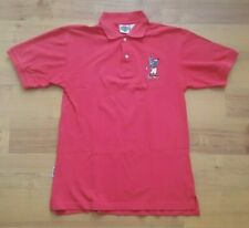 Acme Clothing Co Looney Tunes Bugs Bunny Golfing Pink Polo Shirt Vintage SMALL