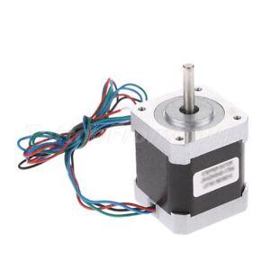 1Pc 0.9 ° 42mm Stepper Motor Bipolar Nema17 2-phase 2.4A 4-wires for 3D Printer