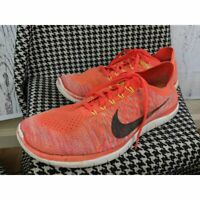 Nike Mens Free 4.0 Flyknit Running Shoes Athletic 11.5 US