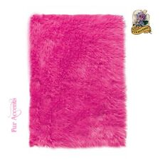 Premium Faux Fur Shaggy Area Rug Shag 8 Colors 6 Sizes Faux Sheepskin White