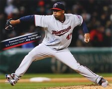 FRANCISCO LIRIANO SIGNED 16x20 NO HITTER MINNESOTA TWINS 5/3/11 PHOTO BLUE JAYS