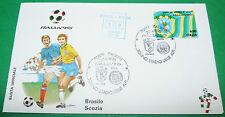 RARE ITALIA 90 20/06/1990 BRESIL - SCOTLAND TORINO COUPE MONDE FOOTBALL
