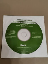 Reinstallation CD Microsoft Windows XP Professional SP2 Dell Integrated Key