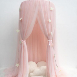 Dome Princess Mosquito Net Mesh Bed Canopy Children Tent Curtain For Baby Room