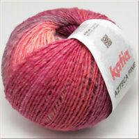 100g AZTECA FINE KATIA Wolle Farbverlauf 213 Strickwolle Winterwolle