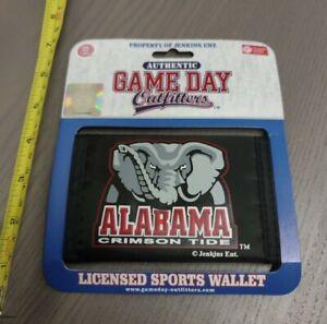 Officially Licensed Alabama Crimson Tide Mascot Men's Tri-Fold Wallet - New