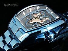 Invicta Reserve Tonneau MASTER CALENDER Grand Diablo Furnace BLUE Bracelet Watch