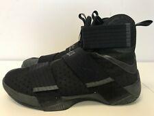 Mens Nike Lebron Zoom Soldier X 10 Black 844374 001