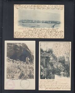 Chile Lot PPC Iquique/Santiago Cerro S.Lucia/isla Juan Fernadez 1899-1922 to Ger