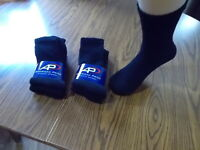 BLACK SOCKS AMERICAN PRIDE CREW SZ 9-11 FREE SHIPPING 6 OR 12 PAIR MADE IN USA