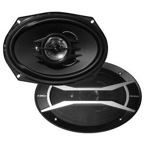 "XXX XGT6903 6"" x 9"" 400 Watt 3 Way Speakers (pair)"