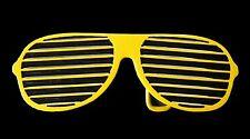 YELLOW SUMMER SUN GLASSES SHADES SHUTTER BELT BUCKLE BOUCLE  DE CEINTURE
