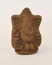 "Go Ganesha. 100% Eco Friendly 3 inch Ganesha Idol made of ""Satvika"" Gomay"