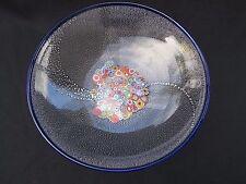 "GAMBARO & POGGI Murano ITALY MILLEFIORI Certer Piece Bowl Signed Large 12""D Mint"