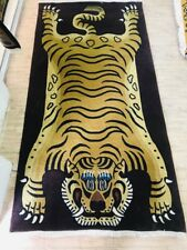 Tibetan Tiger Rug Large Size 3x6 Feet
