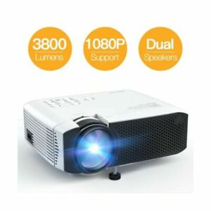 APEMAN LC350 DIGITAL LCD PROJECTOR MINI PORTABLE HD 1080P HOME THEATRE NEW