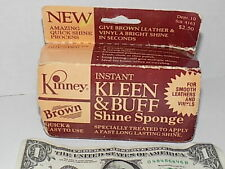 Vintage Kinney Shoes Collectible Kinney Pro-Care Treatment Leathers and Vinyls