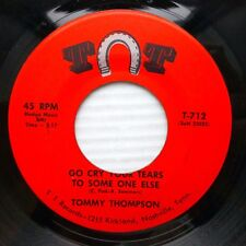 TOMMY THOMPSON cowboy 45 GO CRY YOUR TEARS TO SOMEONE ELSE / TWELVE WILTED J1086