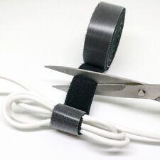 1m Klett Kabelbinder Kabel Band Klettband Klettbinder Klettverschluss