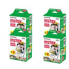 40 Fujifilm Fuji Instax Mini Film White Sheet for 7s 8 10 25 50s 50i SP1  w