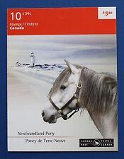 CANADA (#2329-2330) 2009 Horses MNH booklet