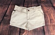 Women's Vintage 90's Style Khaki Shorts by Todd oldham Size 1 New With Tags